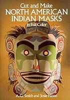 Cut and make North American Indian masks in full color