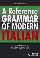 A reference grammar of modern Italian