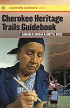 Cherokee Heritage Trails Guidebook cover