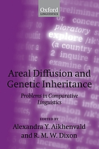 Areal diffusion and genetic inheritance : problems in comparative linguistics