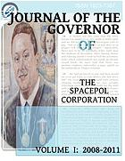 Journal of the governor of The SPACEPOL Corporation. Volume 1, 2008-2011