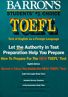 How to prepare for the TOEFL test : test of English as a foreign language