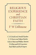 Religious experience and Christian faith