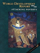 World development report. 2000/2001 : Attacking poverty.