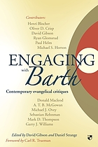 Engaging with Barth : contemporary evangelical critiques