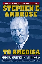 To America : personal reflections of an historian