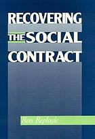 Recovering the social contract
