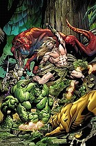The Incredible Hulks. Planet savage