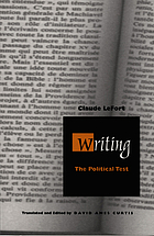 Writing, the political test