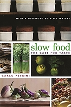 Slow food: the case for taste cover image