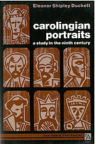 Carolingian portraits; a study in the ninth century.