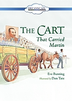 The cart that carried Martin.