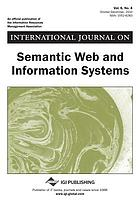 International journal on semantic Web and information systems (IJSWIS) Volume 6, issue 4, October-December 2010