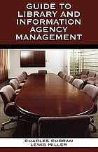 Guide to library and information agency management