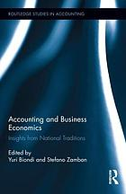 Accounting and business economics : insights from national traditions