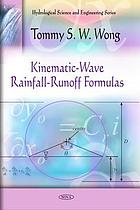 Kinematic-wave rainfall-runoff formulas