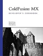ColdFusion MX : developer's cookbook