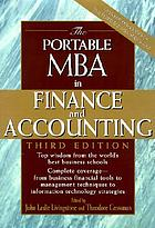 The portable MBA in finance and accounting.