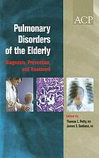 Pulmonary disorders of the elderly : diagnosis, prevention, and treatment