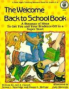 The welcome back to school book