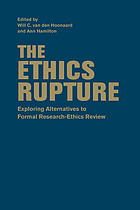 The ethics rupture : exploring alternatives to formal research-ethics review