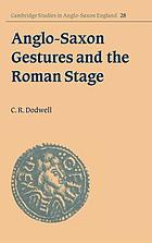 Anglo-Saxon gestures and the Roman stage