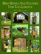 Bird boxes and feeders for the garden