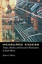 Measured excess : status, gender, and consumer nationalism in South Korea