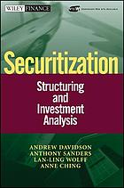 Securitization : structuring and investment analysis