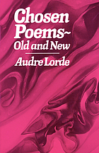 Chosen poems, old and new