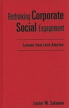 Rethinking corporate social engagement : lessons from Latin America