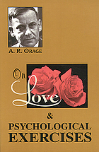 On love & Psychological exercises