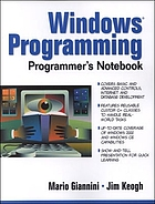 Windows programming programmer's notebook