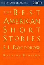 The best American short stories. 2000 : selected from U.S. and Canadian magazines