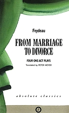 From marriage to divorce