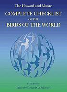 The Howard and Moore complete checklist of the birds of the world