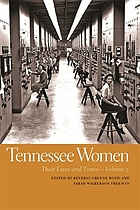 Tennessee women : their lives and times. Volume 2
