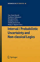 Interval/probabilistic uncertainty and non-classical logics