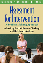 Assessment for intervention : a problem-solving approach