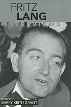 Fritz Lang : interviews