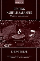 Reading Nathalie Sarraute : dialogue and distance
