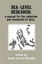 Sea-level research : a manual for the collection and evaluation of data