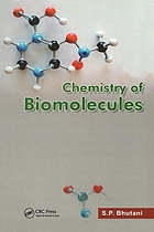 Chemistry of biomolecules