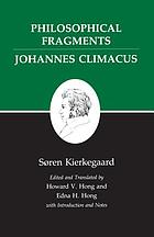 Philosophical fragments, Johannes Climacus