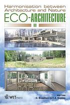 Eco-architecture II : harmonisation between architecture and nature