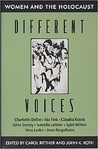 Different voices : women and the Holocaust