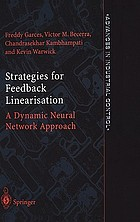 Strategies for feedback linearisation : a dynamic neural network approach