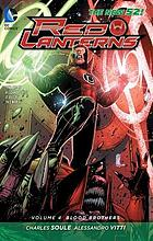 Red Lanterns. Volume 4, Blood Brothers