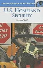 US homeland security : a reference handbook