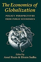 The economics of globalization : policy perspectives from public economics